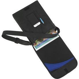Branded Swoosh Flap Messenger Bag