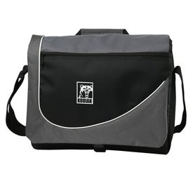 Swoosh Messenger Bag for Advertising