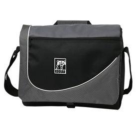 Swoosh Messenger Bag for Advertising
