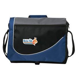 Printed Swoosh Messenger Bag