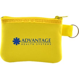 Taft Zip Pouch with Key Holder for Your Church