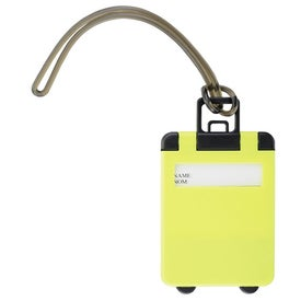Imprinted Taggy Luggage Tag