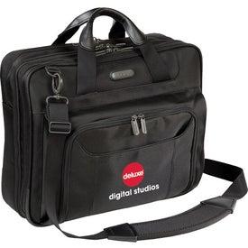 "Targus 14"" Zip-Thru Corporate Traveler Laptop Case Imprinted with Your Logo"