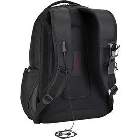 Customized Targus Legend IQ Backpack