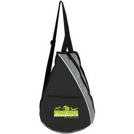 Teardrop Slingpack for Marketing