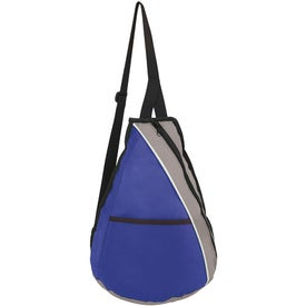 Teardrop Slingpack with Your Slogan