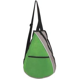 Monogrammed Teardrop Slingpack
