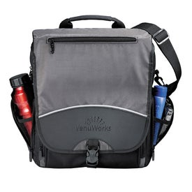 Monogrammed TechTransit Vertical Compu Messenger