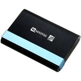 Textured Plastic Card Holder with Matte Metal Lock Lever