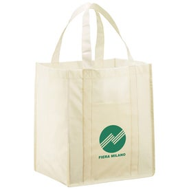 The Athena Laminated Tote Branded with Your Logo