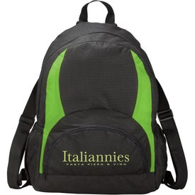 The Bamm Bamm Backpack Branded with Your Logo