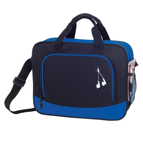 Black / Blue Barracuda Briefcase