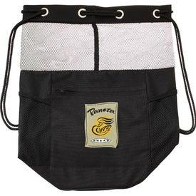 The Barrel of Fun Drawstring Bag with Your Slogan