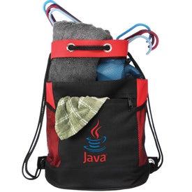 The Barrel of Fun Drawstring Bag