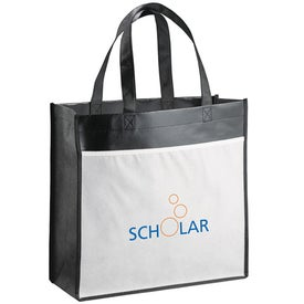 Monogrammed The Billboard Laminated Tote