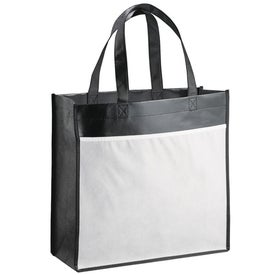 The Billboard Laminated Tote Imprinted with Your Logo