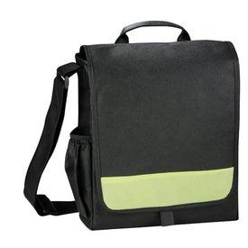 Imprinted The Bravo Messenger Bag