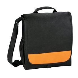 Branded The Bravo Messenger Bag