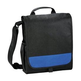 The Bravo Messenger Bag with Your Slogan