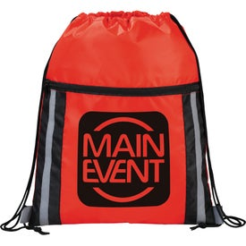 The Deluxe Reflective Drawstring Cinch for Promotion