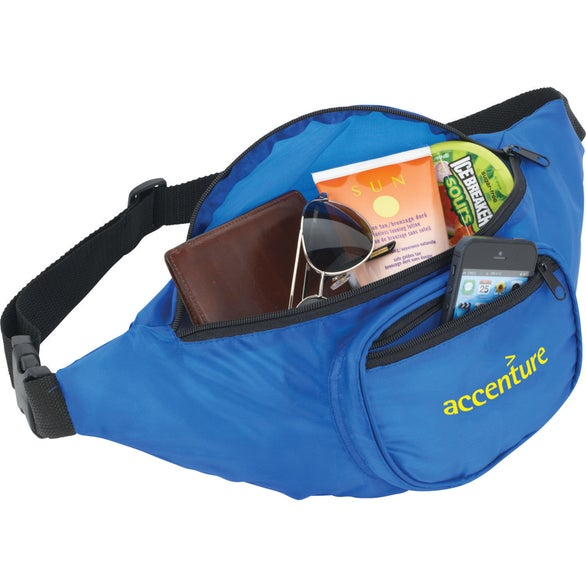 Royal Blue Hipster Deluxe Fanny Pack