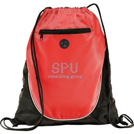 Peek Drawstring Backpack