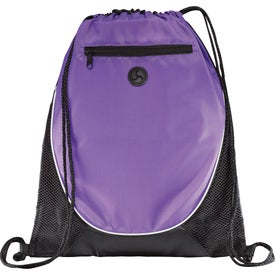Customized Peek Drawstring Backpack