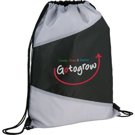 Personalized The Pennant Drawstring Cinch Backpack