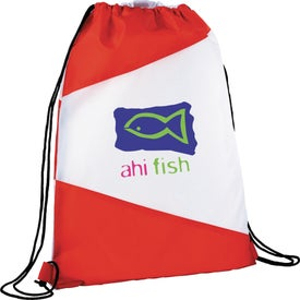 The Pennant Drawstring Cinch Backpack for Your Company