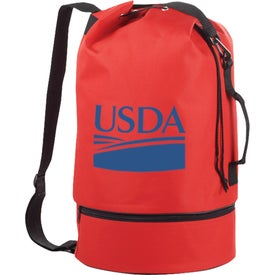 The Sailor Duffel Drawstring Sling Imprinted with Your Logo