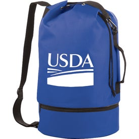 The Sailor Duffel Drawstring Sling for Your Organization