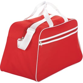 The San Jose Retro Sport Duffel for Your Company