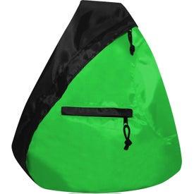 Monogrammed The Seattle Sling Backpack