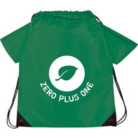 T-Shirt Drawstring Cinch Backpack