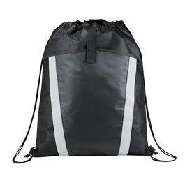 Printed The Vortex Drawstring Backpack