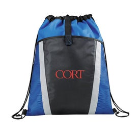 The Vortex Drawstring Backpack Printed with Your Logo