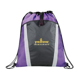 The Vortex Drawstring Backpack for Your Organization