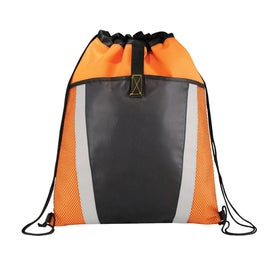 The Vortex Drawstring Backpack for Your Company