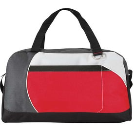 The Wingman Duffel with Your Slogan