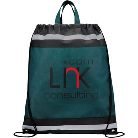 The Eagle Drawstring Backpack Printed with Your Logo
