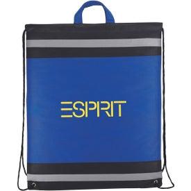Imprinted The Eagle Drawstring Backpack