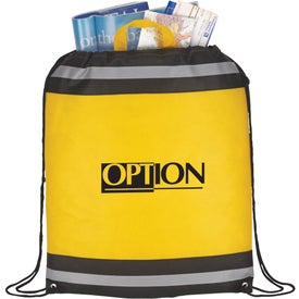 The Eagle Drawstring Backpack for Promotion