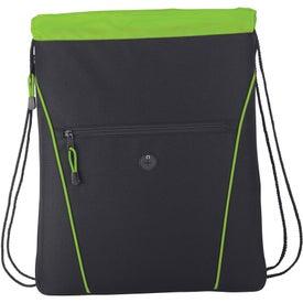 Monogrammed The Raven Drawstring Backpack