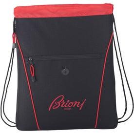 The Raven Drawstring Backpack for Marketing