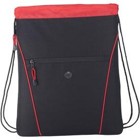 Custom The Raven Drawstring Backpack