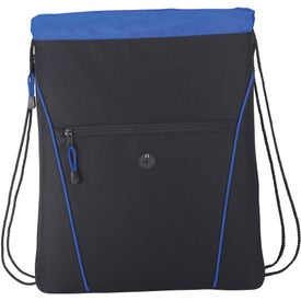 The Raven Drawstring Backpack for Your Company