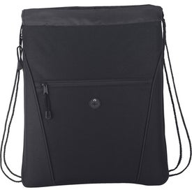 Personalized The Raven Drawstring Backpack