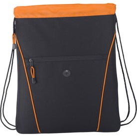 The Raven Drawstring Backpack for Advertising