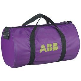 The Samson Budget Barrel Duffel Bag for Marketing