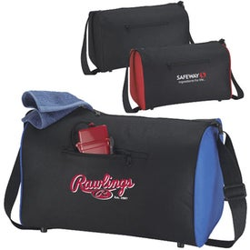 The Trek Duffel Bag Branded with Your Logo